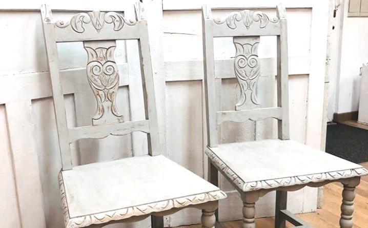 sillas restauración mueble taller